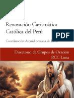 RCC - Renovacion Carismatica Catolica Peru - Grupos de Oracion Lima Peru