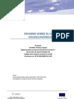 Infome Sobre El Contexto Socioeconomico de Peru