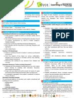 Fact Sheet Educa 2009 & 1st ICLT