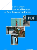 A Snapshot - 2012 Update. Sanitation and Hygiene in East Asia and the Pacific