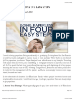GO PAPERLESS TODAY IN 4 EASY STEPS - Tech.co