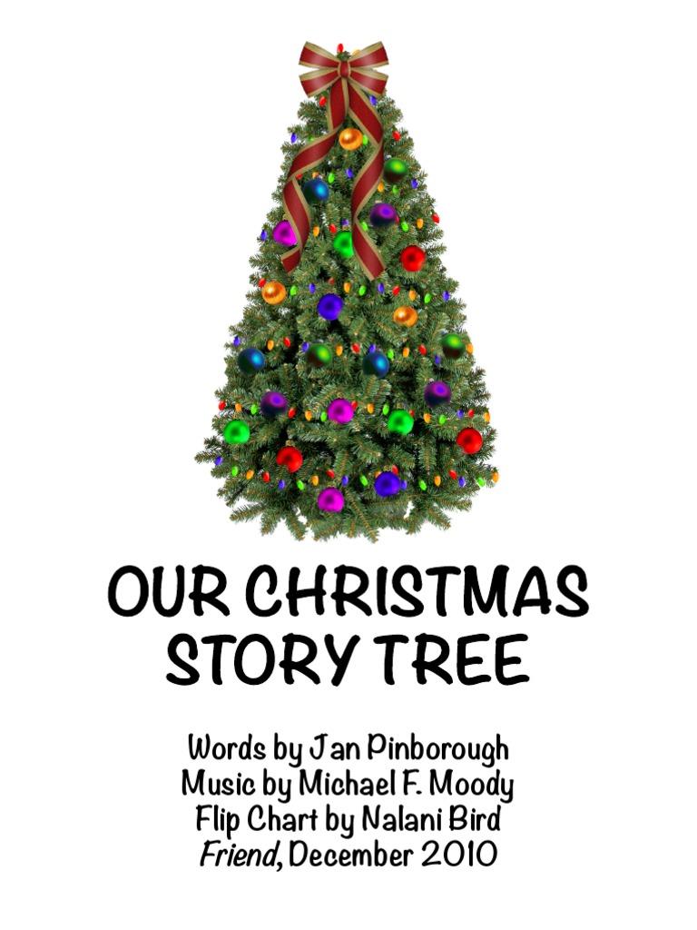 Picture A Christmas Flipchart.Our Christmas Story Tree Fc Nalani