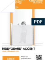 Lascal KiddyGuard Accent Manual 2012 (Svenska)