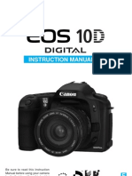 Canon EOS 10D User Guide