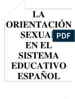 la orientacion sexual en el sistema educativo