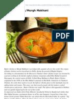 Cilantroonline.com-Butter ChickenMurgh Makhani