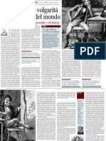 Alessandro Piperno Su Le Illusioni Perdute Di Balzac - Il Corriere Della Sera 04.12.2012