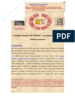 Constitutia Conciliara DEI VERBUM - Scurta Prezentare Tematica