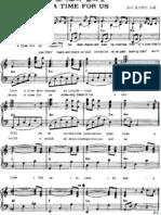Nino Rota - A Time for Us (Piano)
