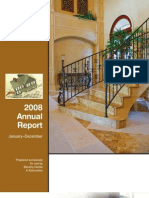 2008 Annual Report January–December Prepared Exclusively for Use By