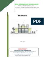 Proposal Pembangunan Masjid Al-Ashri-Alam Asri Kemuning