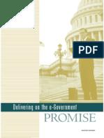 Delivering e Gov