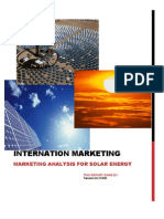Solar Power Marketing Analysis