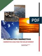 Solar Power Marketing Analysis