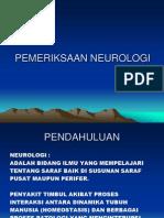 DEFINISI NEUROLOGI