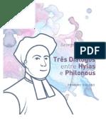Três Diálogos entre Hylas e Philonous, de George Berkeley