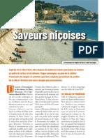 Evasion Saveurs nioises, Faire Face nu méro 713, novembre 2012, pages 56-57