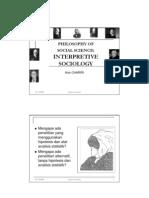 Interpretive Sociology