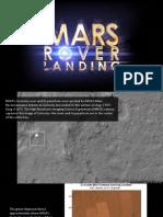 Mars Rover Landing Photos 3848185