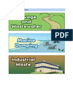 The Causes of Water Pollution