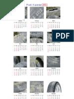 Pirelli Kalenteri2013