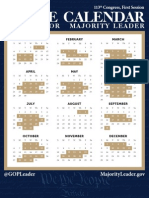 113 th Congress -Calender 2013