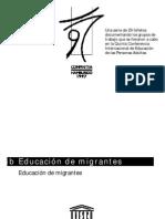 Educación de migrantes-UNESCO
