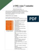 O Modelo OSI e Suas 7 Camadas