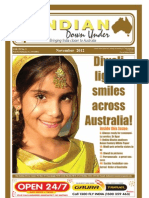 The Indian Down Under - November 2012 E Paper