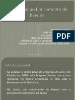 Introdução e ideias fundamentais da teoria de Keynes - 2012_I