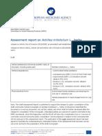 Assessment Report on Achillea Millefolium Herba