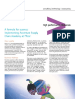 Pfizer Supply Chain Academy Success Story