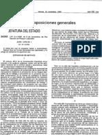Ley 31-1995 de Prevencion de Riesgos Laborales