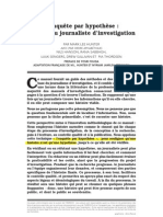 Journalisme d'Investigation