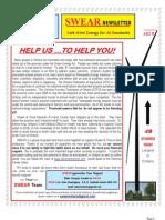 SWEAR Newsletter 2012-10