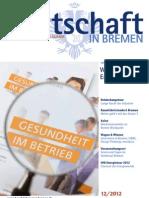 """Wirtschaft in Bremen 12/2012 - Informationstag """"Gesundheit"""""""