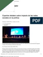 Expertos debaten sobre impacto de las redes sociales en la política « NAHJ UPR Chapter