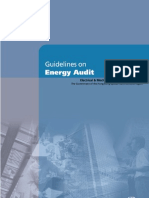Energy Audit Guidelines