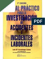 Manual Practico de Investigacion de Accidentes