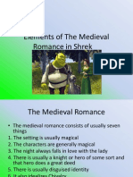 The Medieval Romance in Shrek
