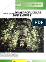 Iluminacion Artificial de Zonas Verdes