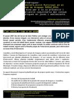 Granollers_Acció Municipal en el consum de drogues #2012_2015