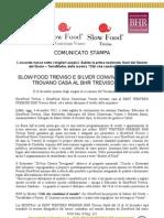 SLOW FOOD TREVISO E SILVER CONVIVIUM VENETO TROVANO CASA AL BHR TREVISO HOTEL