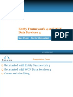 EF4 and WCF Data Services 4 Max Weber Tallan