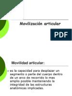 Movilización articular