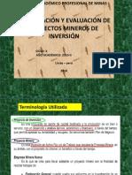 Clases 001formulacion y Evaluacion Proyectos de Inversion Minera