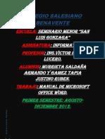 Manual de Microsoft Office Word
