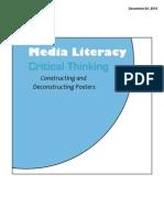 Media Literacy - Poster