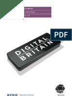 Digital Britain Interimreportjan09