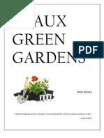 Geaux Green Gardens Environmental Management Plan